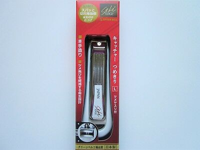 New SEKI EDGE Toenail Clipper SJ-N11 Made in Japan L