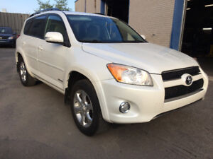 2009 Toyota RAV4 Limited  4x4 4 cylinders