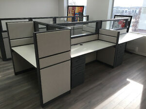 Refurbished Office Cubicles Like New Condition Any Size & Colour Windsor Region Ontario image 3