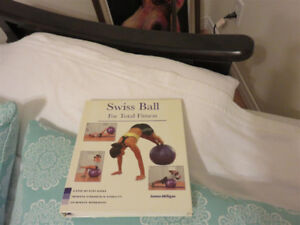 Swiss Exercise Ball for Total Fitness Book and Exercise Ball