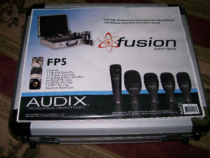 Audix FP5 Drum Microphone Package - New with Aluminum Case!