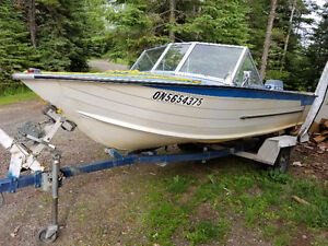 Need Gone!! 16ft Starcraft 70hp evinrude