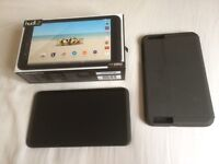 Tesco Hudl 2 tablet and case all boxed