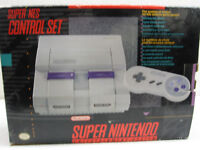 Complete Super Nintendo system with games