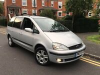 2003 FORD GALAXY 2.8 GHIA AUTO 7 SEATER CHEAP £400 NO OFFERS