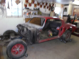 1977 trans am project car