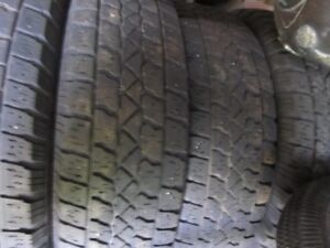 4 Winter tires/ pneus hiver 225/75R15