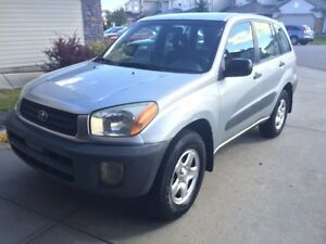 2001 RAV4 SUPER RELIABLE $2999