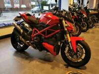 2014 14 DUCATI STREETFIGHTER 848 TERMI PIPES STUNNING