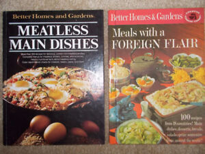 2 Vintage Cookbooks-Better Homes and Gardens