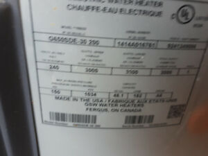 Electric water heater 3 year old