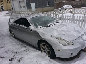 Celica 6 speed transmission and 2zz engine and other parts