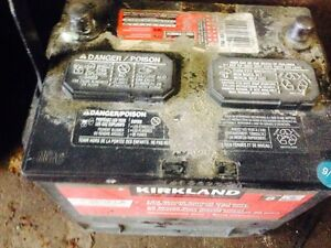Free pick up your old car battery