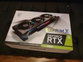 MSI GeForce RTX 3080 Suprim X (Brand New & Sealed)