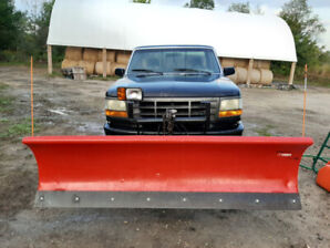 1995 F-150 Truck 4WD with 8 ft Arctic Plow
