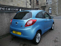 2010 FORD KA 1.2 ZETEC SPORT 3DR ALLOYS £30 TAX PRIVACY SPORTS SEATS FSH A/C
