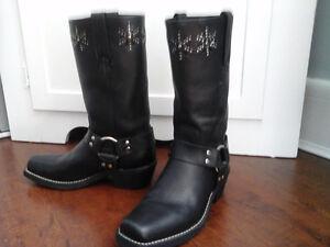 Ladies Frye biker boots