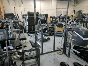 Fitness equipment clearance