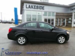 2013 Chevrolet Sonic LS   - local - trade-in - Certified - Low M