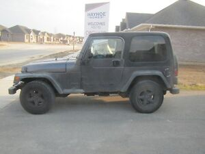 2002 Jeep TJ Go topless this summer !