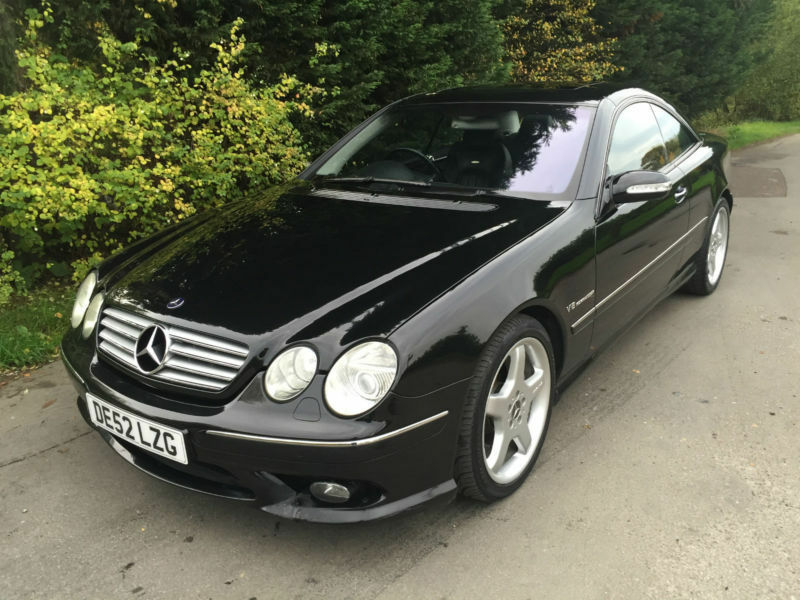 Repossession part ex 52 reg mercedes cl55 amg 5 4 v8 for Mercedes benz v8 kompressor