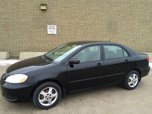 2008 TOYOTA COROLLA CE......NO ACCIDENTS CLEAN CARPROOF Edmonton Edmonton Area image 1