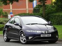 Honda Civic 1.8i-VTEC SE 2007 Petrol..8 SERVICE STAMPS + WARRANTY