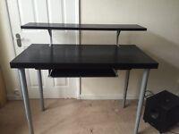 DJ / Music Production desk IKEA hybrid