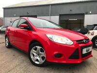 2011/61 Ford Focus 1.6 TDCi Edge ECOnetic Stop/Start Diesel Red NEW SHAPE £20TAX