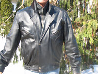 Wilsons Leather  Mens Leather Jacket