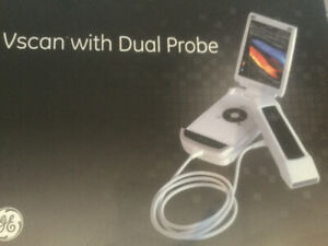 Vends échographe ultra portable Vscan GE dual probe