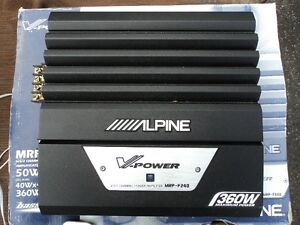 Amplificateur Alpine V-Power 350 Watts RMS