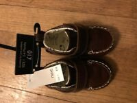 NEW boys baby shoes size 1 / 3-6 months