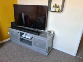 Grey TV unit TV stand