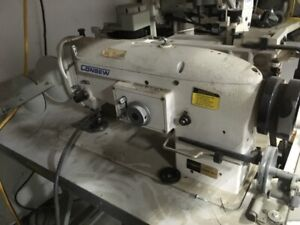 Consew Industrial Sewing Machine. - Excellent Condition! $2000.0