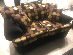 Couch Set - 3 seater and 2 seater (love seat)