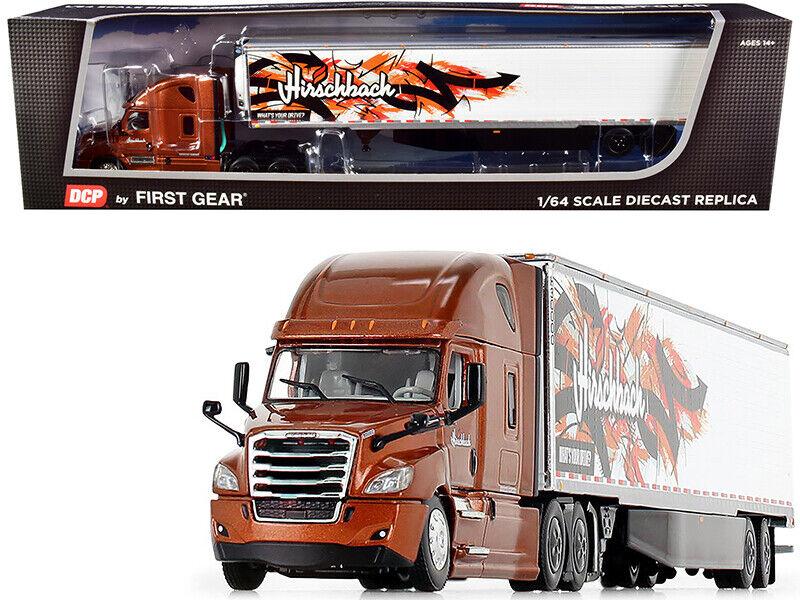 2018 Freightliner Cascadia Reefer Trailer Hirschback 1/64 DCP/First Gear 60-0832