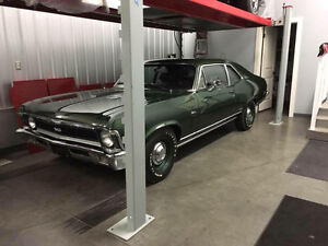 1970 CHEVROLET NOVA L78 M21 23000 ORIGINAL DOC MILES NEW IN BC