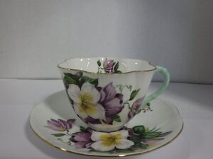 SHELLEY CUP AND SAUCER Peterborough Peterborough Area image 1