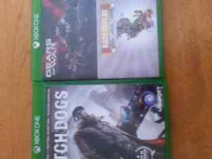Gears of war ultimate edition and watch dogs for sale Xbox one