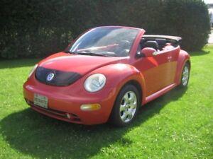 2003 Volkswagen New Beetle gls Cabriolet