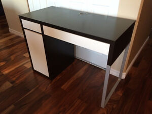 IKEA MICKE Desk, black-white  IKEA Price $99.00
