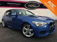 2012 62 BMW 1 SERIES 2.0 125D M SPORT 5D 215 BHP DIESEL HUGE SPEC ESTORIL BLUE