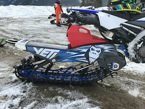 2017 Yeti snow bike kit