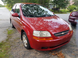 2006 Chevy Aveo.. Low Kms.. Inspected... Works Great!!