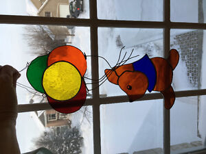 Selling stained glass art