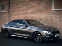 BMW 430d M SPORT 3.0 [TWIN TURBO] DIESEL AUTO 3DR COUPE 2014 [14] GREY