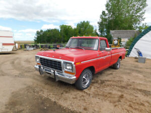 1979 Ford F100 up for Auction!