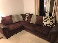 Corner sofa suite bed