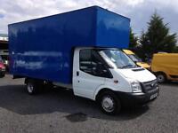 Ford Transit lwb luton box van 14 foot 2.2TDCi EU5 t350 2012 Reg